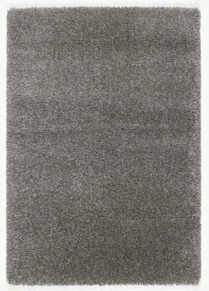 HOCHFLORTEPPICH  80/200 cm  gewebt  Grau - Grau, Basics, Textil (80/200cm) - Novel