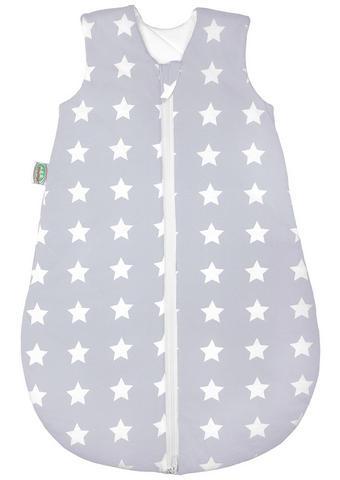 BABYSCHLAFSACK - Silberfarben/Weiß, Basics, Textil (70cm) - Odenwälder