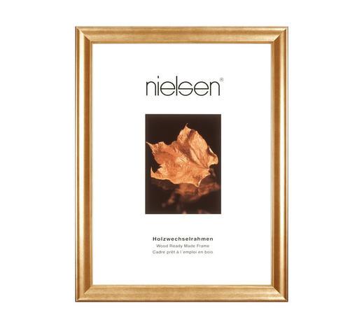 BILDERRAHMEN  Goldfarben - Goldfarben, Basics, Holz (15/20cm) - Nielsen