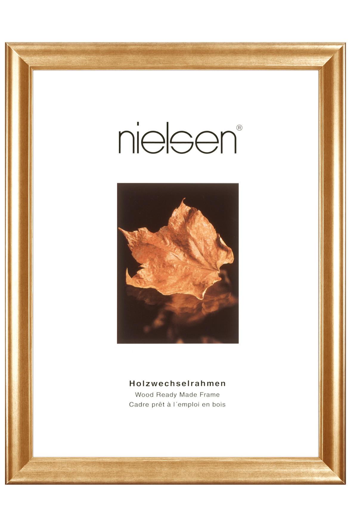 BILDERRAHMEN  Goldfarben - Goldfarben, Holz (15/20cm)