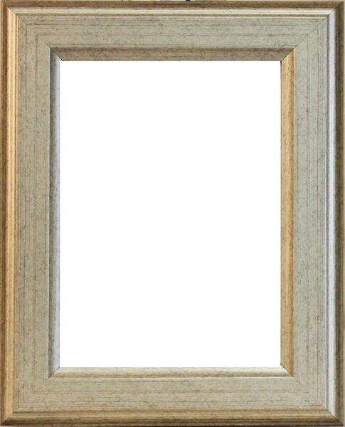 RÁM NA OBRAZY - barvy stříbra, Basics, dřevo (36/27/1.8cm)