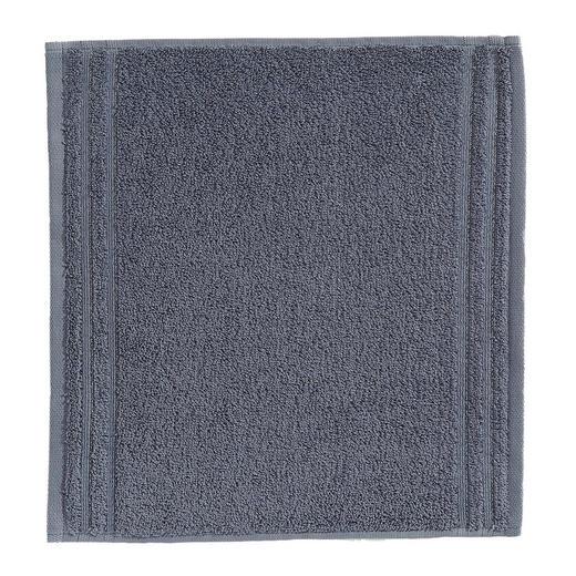 SEIFTUCH  Grau - Grau, Basics, Textil (30/30cm) - Vossen