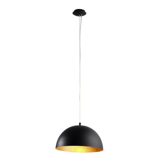 HÄNGELEUCHTE - Goldfarben/Schwarz, Design, Metall (38/150cm)