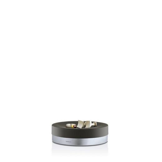 SEIFENSCHALE - Anthrazit, Design, Stein/Metall (12/3,5cm) - Blomus