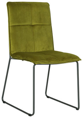 STOL - grön/svart, Design, metall/textil (56/91/58,5cm) - Carryhome