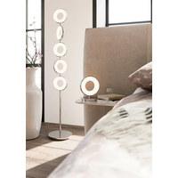 LED-STEHLEUCHTE - Chromfarben/Transparent, Design, Kunststoff/Metall (22/22/135cm) - Joop!