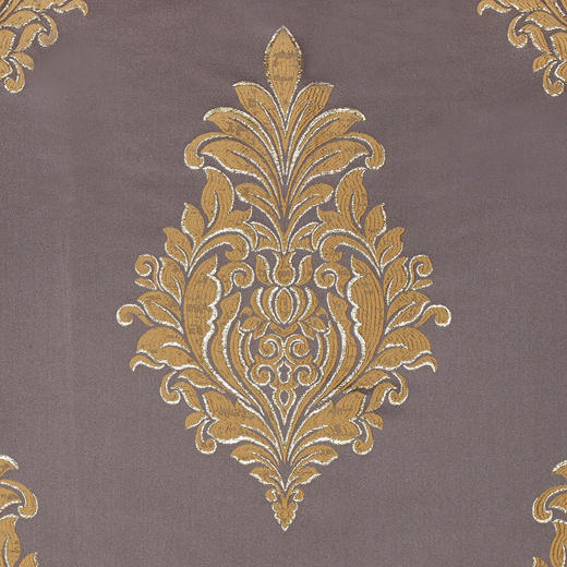 DEKOSTOFF per lfm blickdicht - Anthrazit/Goldfarben, KONVENTIONELL, Textil (75cm) - Esposa