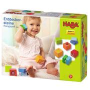 BAUSTEINE - Multicolor, Basics, Holz/Kunststoff (4/4/4cm) - Haba