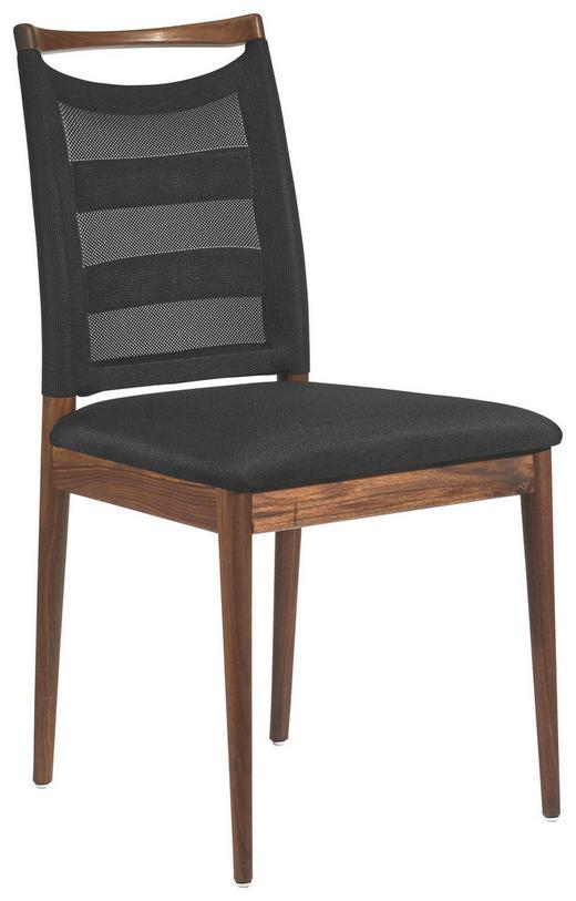 Stühle modern holz  STUHL Nussbaum massiv Nussbaumfarben, Schwarz online kaufen ➤ XXXLutz