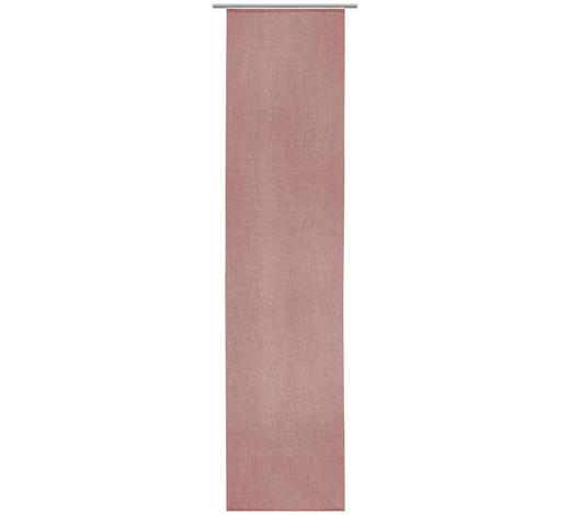 ZÁVĚS PLOŠNÝ, 60/255 cm - růžová, Design, textil (60/255cm) - Novel