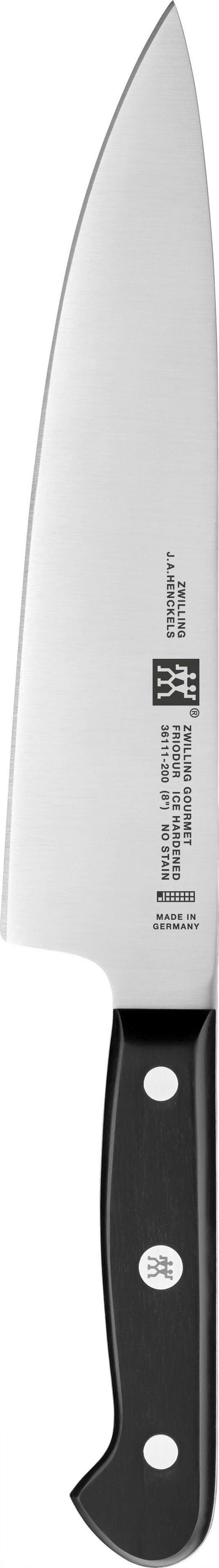 KOCHMESSER - Silberfarben/Schwarz, Basics, Kunststoff/Metall - Zwilling