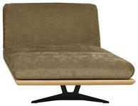OTTOMANE Grün  - Schwarz/Grün, Design, Textil/Metall (114/92/165/218cm) - Dieter Knoll