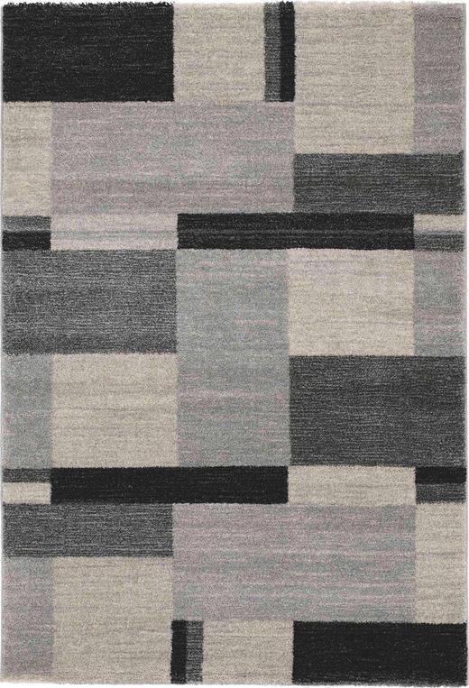 WEBTEPPICH - Grau, KONVENTIONELL, Textil (65/130cm) - Novel
