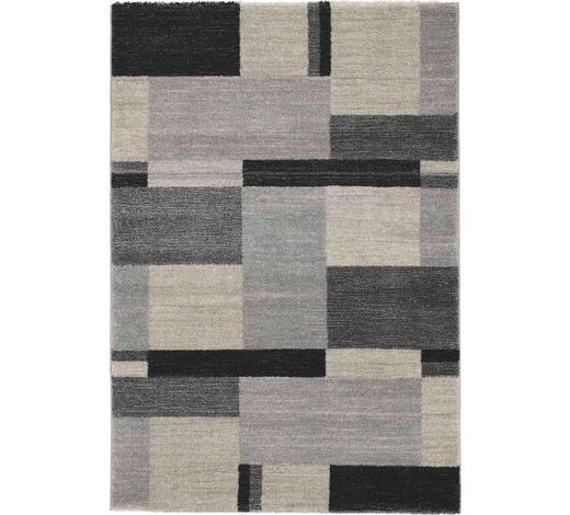 WEBTEPPICH - Grau, KONVENTIONELL, Textil (120/170cm) - Novel