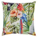 Zierkissen Tropical - Multicolor, KONVENTIONELL, Textil (43/43cm) - Ombra