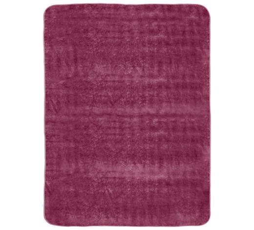 WOHNDECKE 180/220 cm - Beere, Design, Textil (180/220cm) - Novel
