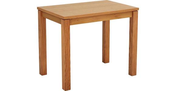ESSTISCH in Holz, Holzwerkstoff 90/60/76 cm  - Eichefarben, KONVENTIONELL, Holz/Holzwerkstoff (90/60/76cm) - Cantus