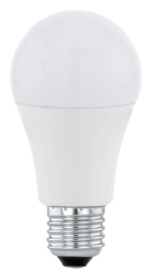 LED-Leuchtmittel E27 - Weiß, Basics, Glas (12cm) - Homeware