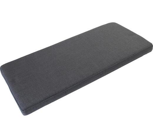SITZKISSEN Anthrazit  - Anthrazit, Design, Holzwerkstoff/Textil (72/6/33cm) - Carryhome