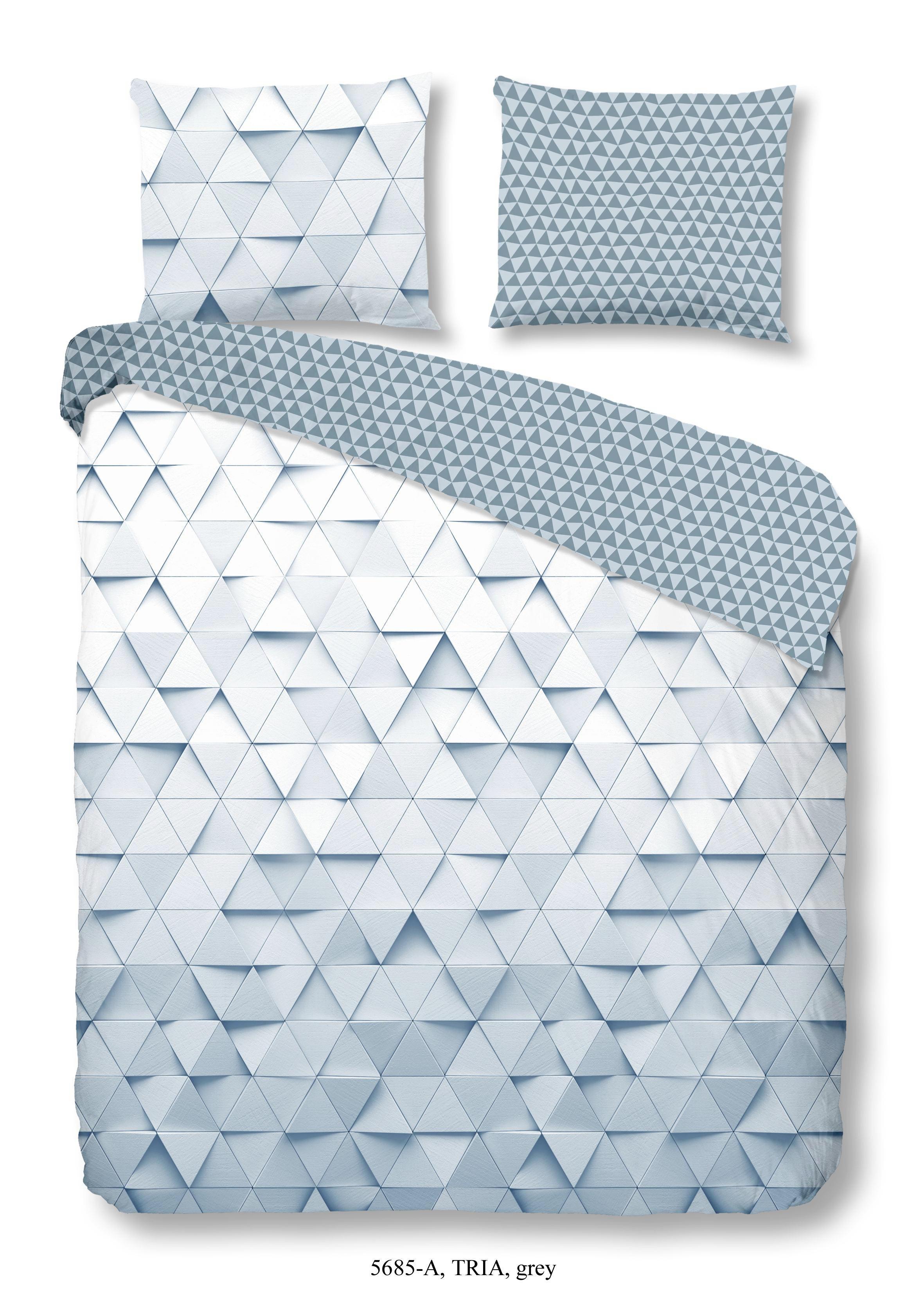 POSTELJINA ZA MLADE - siva, Konvencionalno, tekstil (140/200cm)