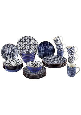 KOMBI SERVIS - bijela/plava, Trend, keramika - Ritzenhoff Breker