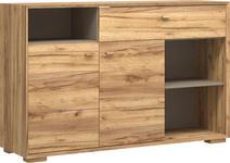 SIDEBOARD melaminharzbeschichtet Eichefarben - Eichefarben, Design, Holz/Holzwerkstoff (142/91/41cm) - Linea Natura