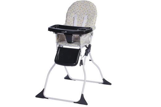 HOCHSTUHL Grey Patches - Weiß/Grau, Basics, Kunststoff/Textil (62/102/67cm) - Safety 1st