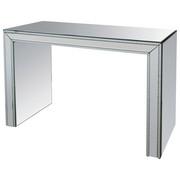 STOL KONZOLA - boje srebra, Design, staklo/drvni materijal (111/76,5/37,5cm) - Xora