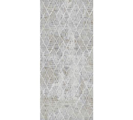 TKANÝ KOBEREC, 80/250 cm, modrá, bílá - bílá/modrá, Design, textil/přírodní materiály (80/250cm) - Novel