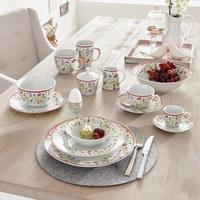 SALATSCHÜSSEL Porzellan Keramik  - Gelb/Lila, Basics, Keramik (15cm) - Ritzenhoff Breker