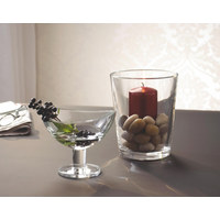 WINDLICHT - Klar, Glas (17cm) - LEONARDO