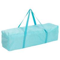 CESTOVNÍ POSTEL - zelená/světle modrá, Basics, kov/textil (125/65/74cm) - My Baby Lou