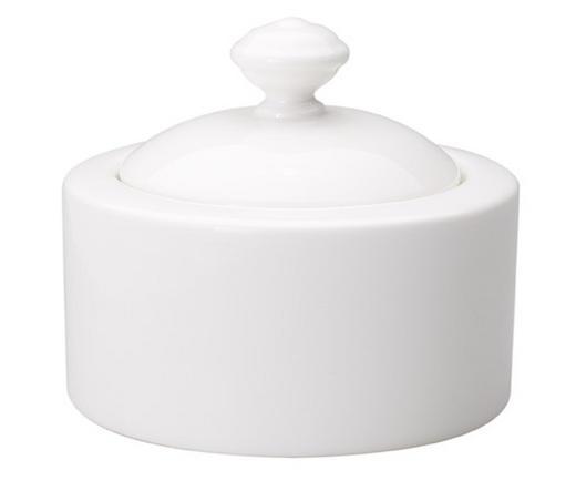 ZUCKERDOSE Keramik - Weiß, Basics, Keramik (0,2l) - Villeroy & Boch