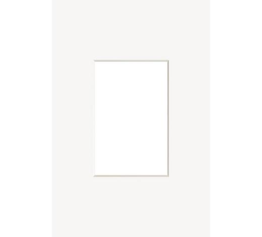 PASSEPARTOUT  Weiß  - Weiß, Basics, Papier (18/24cm) - Nielsen