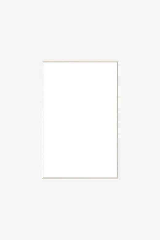 PASSEPARTOUT  Weiß - Weiß, Papier (24/30cm)