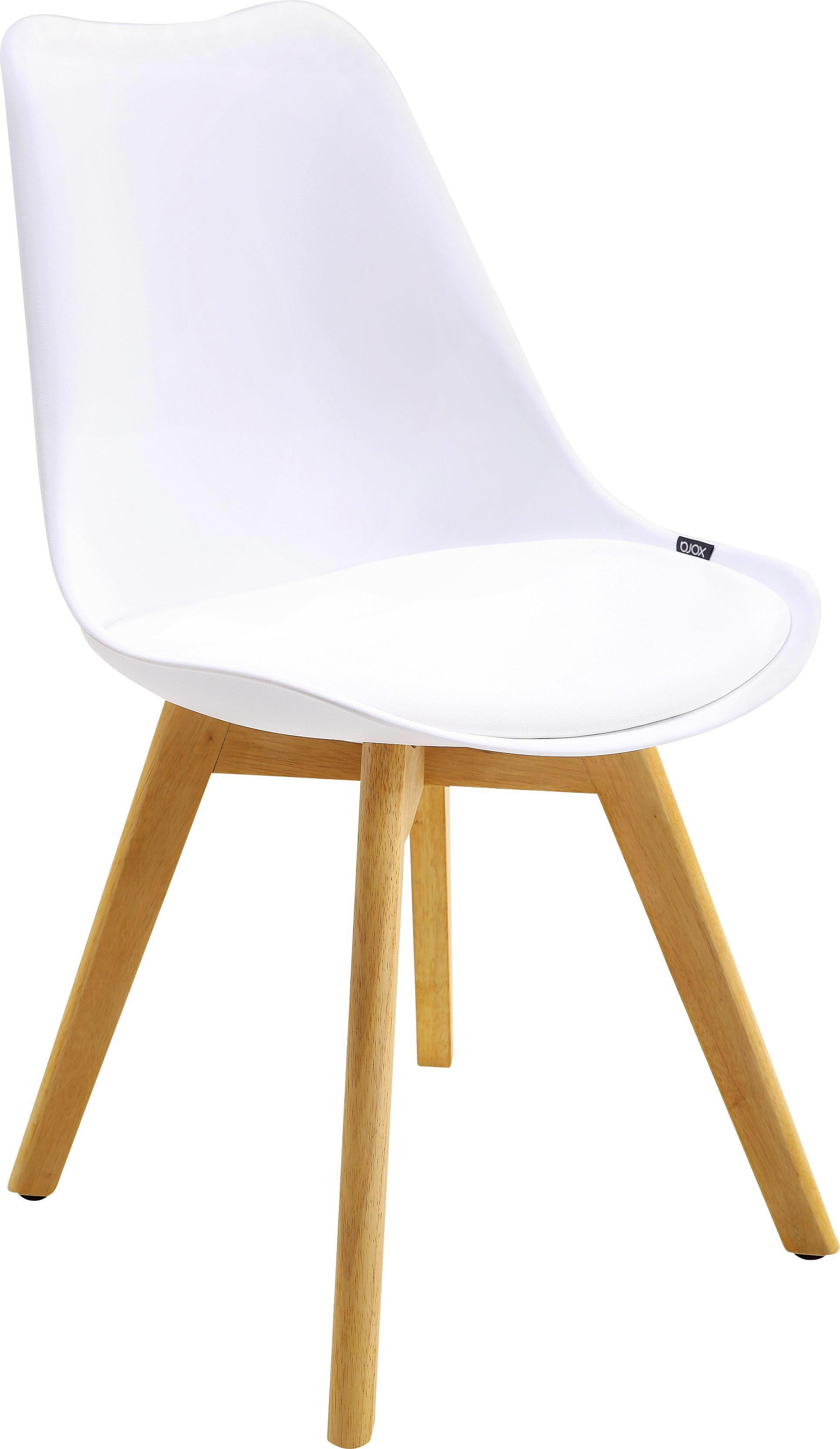 Kautschukholz Lederlook Massiv WeißEichefarben Kaufen Online Stuhl wPkXulTOZi
