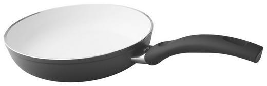 PFANNE 20 cm Keramikbeschichtung - Schwarz, Basics, Metall (20cm) - BALLARINI