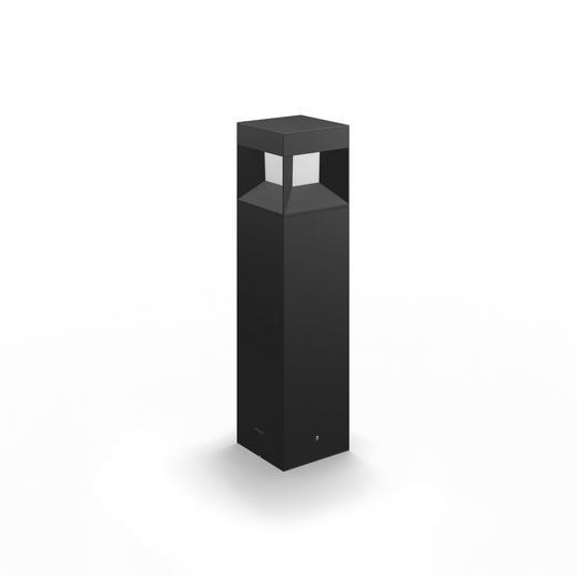 WEGELEUCHTE Schwarz - Schwarz, Design, Kunststoff/Metall (10/40/10cm) - Philips
