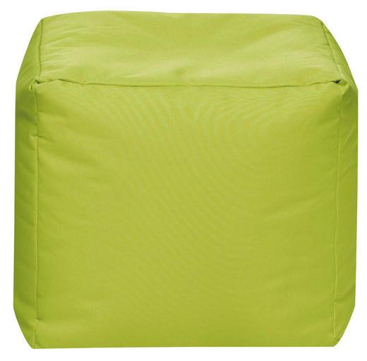 SITZWÜRFEL Grün - Grün, Design, Textil (40/40/40cm) - Carryhome