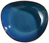 SUPPENTELLER Steinzeug  - Blau, Trend, Keramik (22,5/20/5,5cm) - Landscape