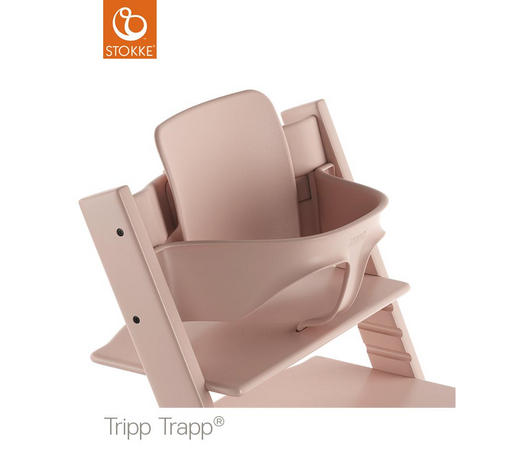 HOCHSTUHLBÜGEL Tripp Trapp  - Hellrosa, LIFESTYLE, Kunststoff (43/19/22cm) - Stokke
