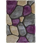HOCHFLORTEPPICH - Lila, Design, Textil (130/190cm) - Novel