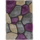 RYAMATTA - lila, Design, textil (160/230cm) - NOVEL