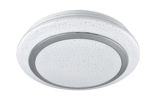 LED-DECKENLEUCHTE - Weiß, Basics, Kunststoff/Metall (30cm) - Novel