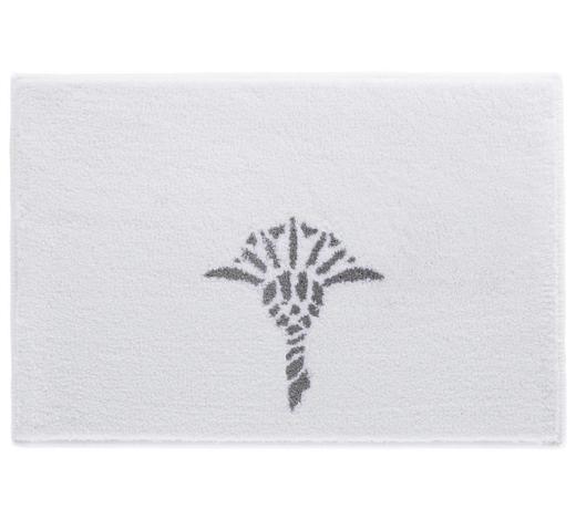 BADTEPPICH in Weiß 50/60 cm - Weiß, Design, Kunststoff/Textil (50/60cm) - Joop!