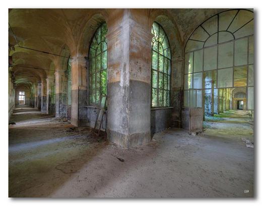 Architektur ACRYLGLASBILD - Multicolor, Basics, Kunststoff (65/50cm) - Wiedemann