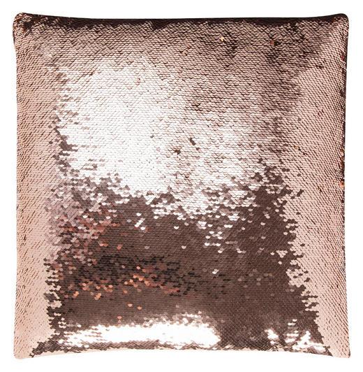 KISSENHÜLLE Goldfarben, Kupferfarben 40/40 cm - Goldfarben/Kupferfarben, Kunststoff/Textil (40/40cm)