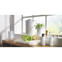 Abfalleimer 5 l - Weiß, Basics, Kunststoff (19/30cm) - Spirella