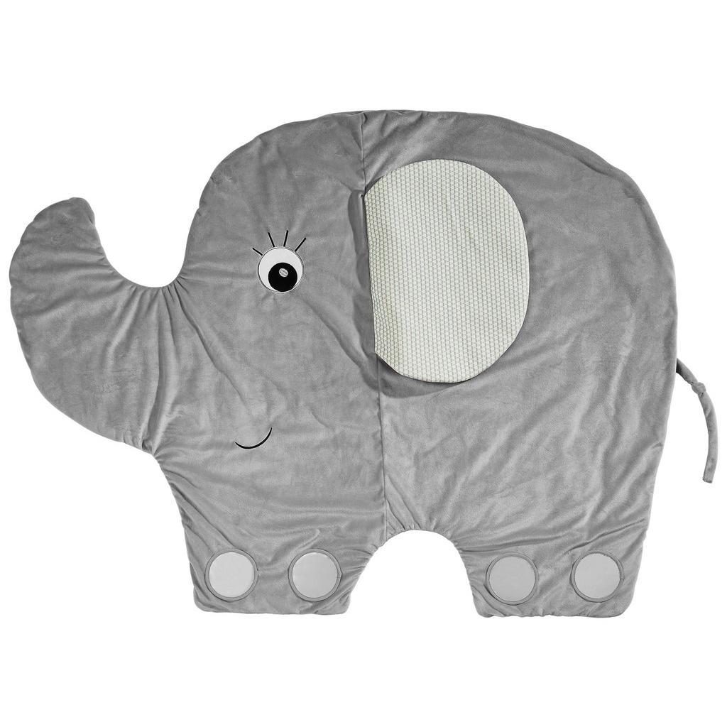 Krabbelteppich in Elefantenform