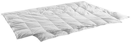 SOMMERBETT  155/220 cm   - Weiß, KONVENTIONELL, Naturmaterialien/Textil (155/220cm) - Sleeptex
